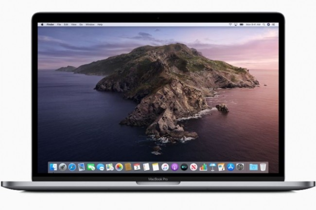 Tous les Mac faisant tourner la version Mojave de macOS ne sont pas compatibles avec Catalina... (crédit : Apple)