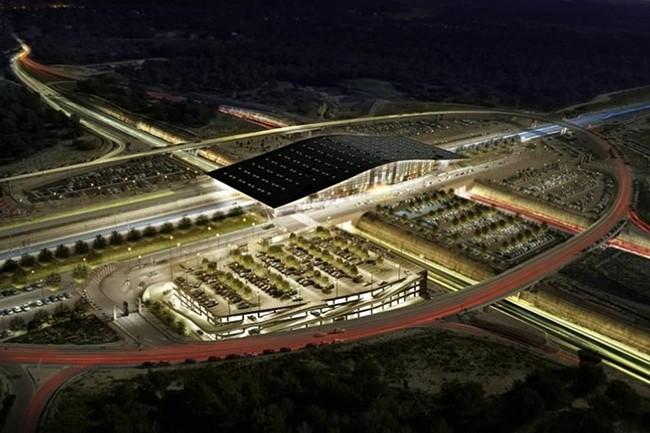 La gare d'Aix-en-Provence est aujourd'hui équipée de 400 capteurs, plusieurs robots et d'autres technologies mises en oeuvre pour améliorer le service à la clientèle et la gestion de la gare. (Crédit : SNCF)