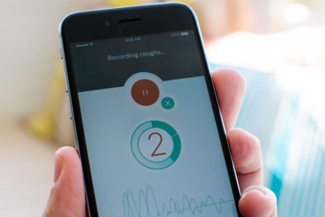 Les diagnostics de toux par reconnaissance vocale via l'application mobile ResApp Health donnent des résultats particulièrement pertinents pour l'asthme et la pneumonie. (crédit : D.R.)