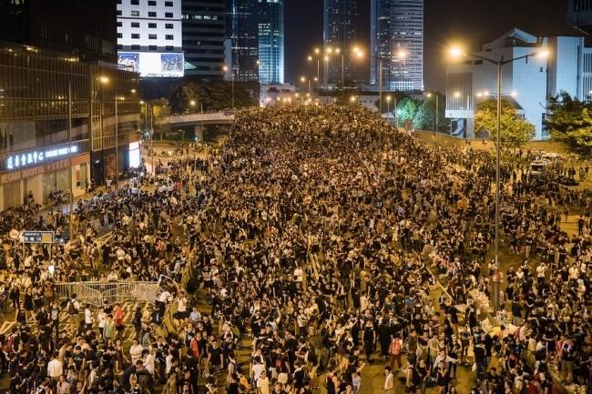 Lors du mouvement Umbrella, en 2014, certaines applications avaient déjà été bloquées par l'Etat chinois. (Crédit :  Studio Incendo, Flickr)