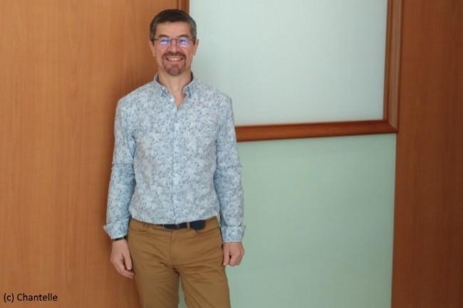 Fabrice Chevron, responsable digital workplace chez Chantelle Lingerie, a recherché la simplicité d'usage en choisissant Gsuite.