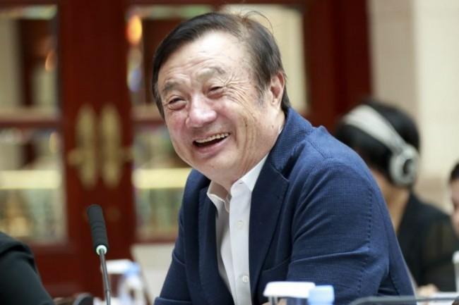 Ren Zhengfei, CEO de Huawei, est au centre d'une tornade politico-économique entre les Etats-Unis et la Chine. (crédit : Huawei)