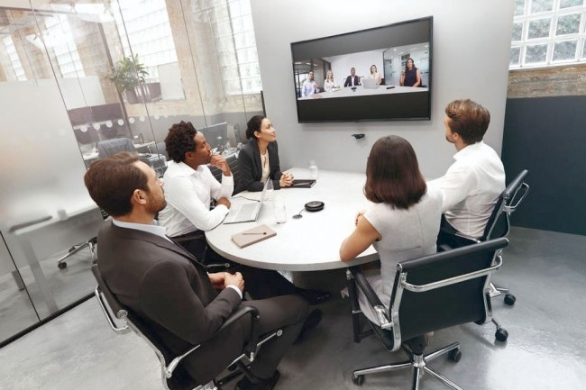 Jabra arrive sur le marché de la vidéoconférence avec le système PanaCast. (Crédit Jabra)
