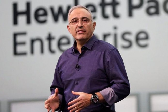 Antonio Neri, CEO de HPE, compte sur GreenLake pour faciliter l'adoption des solutions en tant que service. (Crédit : HPE)
