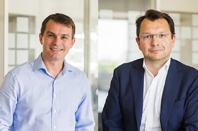 David Coste et Renaud Kerspern deviennent respectivement directeur général et directeur financier d'Alcora, sous l'égide du groupe américain Forterro. (Crédit : Forterro)