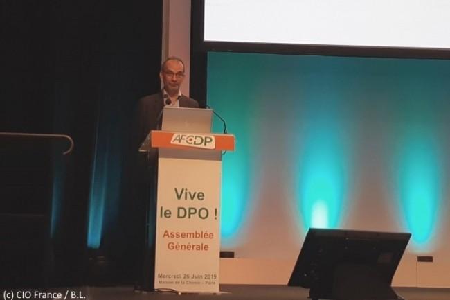 Paul-Olivier Gibert, président de l'AFCDP, a ouvert la convention sur le thème « Vive le DPO ! ».