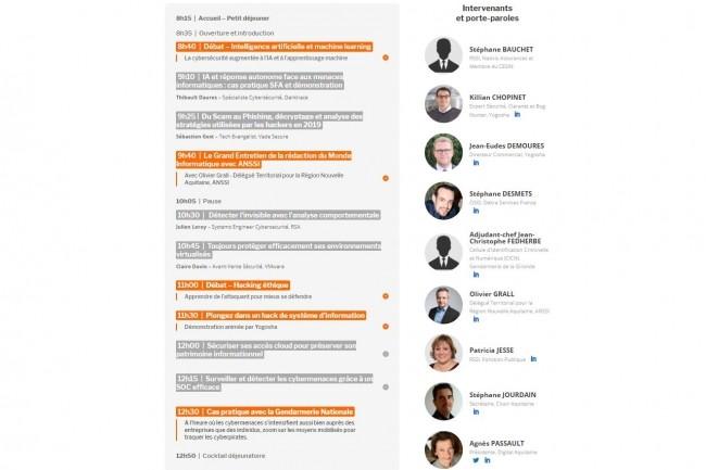 L'édition 2019 des Cybermatinées Sécurité du Monde Informatique se clôture à Bordeaux le 4 juillet 2019. (crédit : LMI)