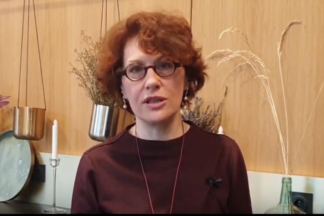 Sylvie Ducharne, DSI de l'Opac de Saône et Loire, à la Cybermatinée Sécurité LMI organisée à Lyon le 3 avril 2019.