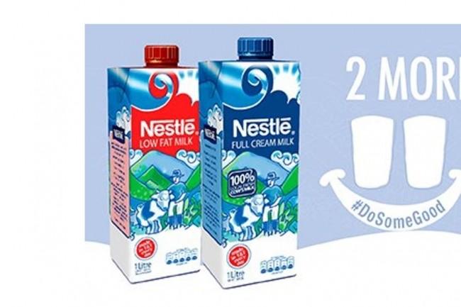 Après le lait, Nestlé prévoit d'étendre l'utilisation de la technologie blockchain pour tracer l'huile de palme provenant des Amériques. (crédit : Nestlé)