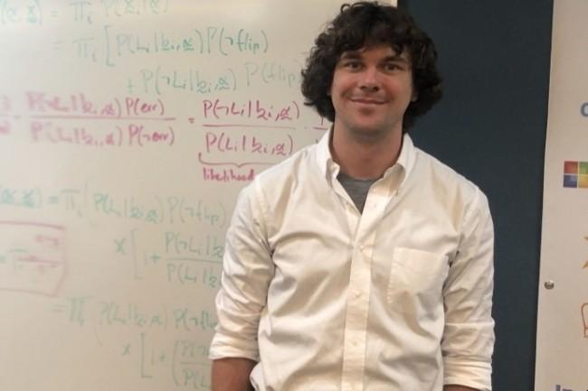 Mike McCourt data scientist chez Invoca milite pour avoir du temps pour explorer de nouvelles idées. (Crédit Photo : Invoca)