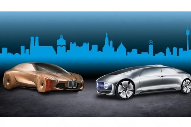 L'alliance entre Daimler et BMW dans la conduite autonome débouche notamment sur la constitution d'un datacenter commun pour stocker, administration et traiter des données. (crédit : D.R.)