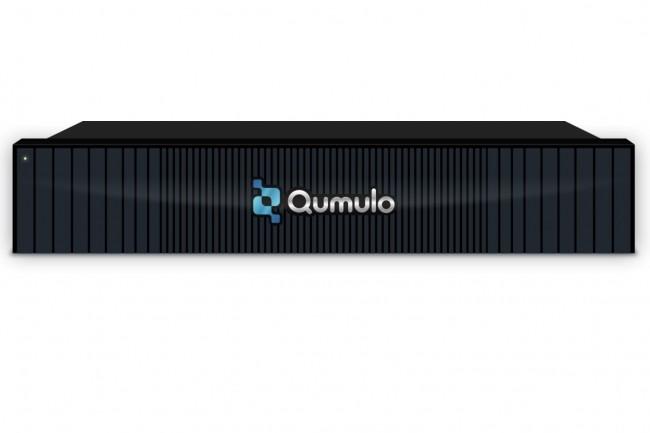 Au format 2U, la baie P-184T de Qumulo vient répondre notamment aux besoins de performances des sociétés de post-production vidéo (Crédit Qumulo)
