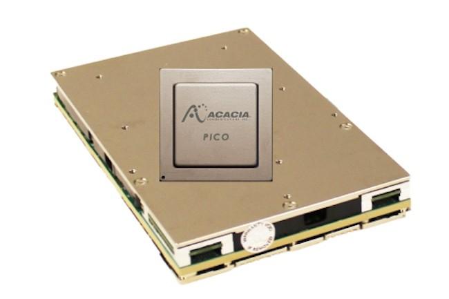 Cisco est cliente depuis environ cinq ans maintenant d'Acacia Communications basé à Maynard, dans le Massachusetts.