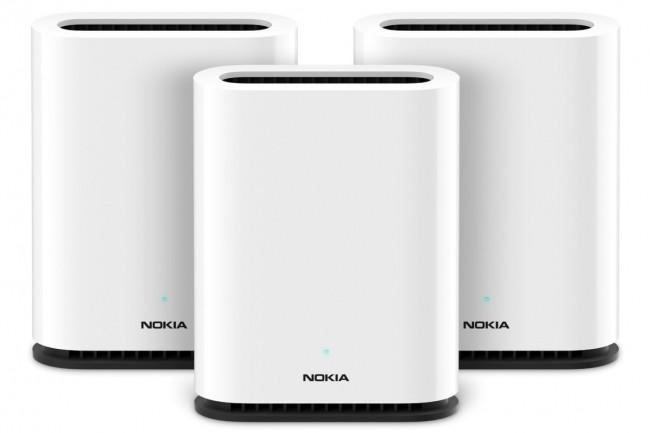 Le routeur mesh WiFi Beacon 1 de Nokia identifie les canaux les moins encombrés. (Crédit Nokia)