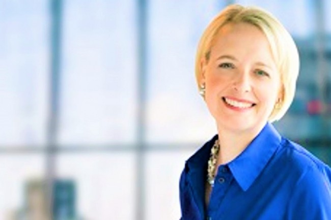 Julie Sweet est entrée à Accenture en mars 2010 en tant qu'avocat général, chef de la conformité et secrétaire général du groupe. (crédit : Accenture)