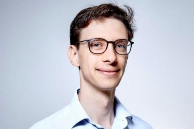 Pierre Camilleri, Data Scientist de la start-up d'État Signaux Faibles, a témoigné sur la CIO.conférence « Automatiser les métiers pour un business augmenté ». (crédit : Bruno Levy)