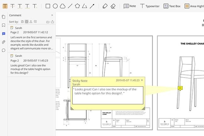 L'interface de la version 7 de PDFelement Pro a été revue, les fonctionnalités maintenues, sans ajout particulier. (Crédit : Wondershare)