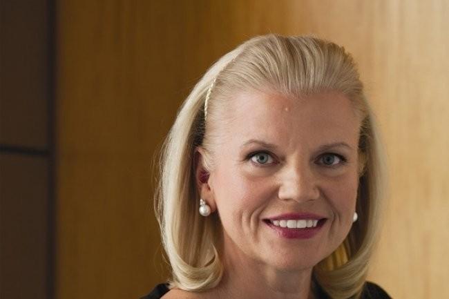 « Au deuxième trimestre, nous avons poursuivi notre croissance dans les secteurs à forte valeur ajoutée de l'entreprise, grâce à une solide performance dans l'ensemble de notre segment Cloud and Cognitive Software », a déclaré la CEO d'IBM, Virginia Rometty. (Crédit : D.R.)