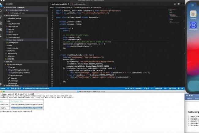 NativeScript 6.0 bénéfice de capacités de mises en page flexibles, comme TabView pour créer des mises en page plus complexes avec moins de code. (crédit : NativeScript)
