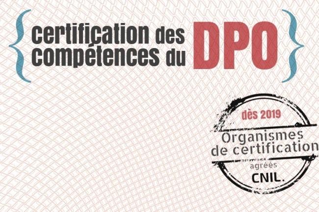 Les agréments délivrés par la CNIL auprès des organismes certificateurs de compétences des délégués à la protection des données personnels commencent à tomber. (crédit : CNIL)
