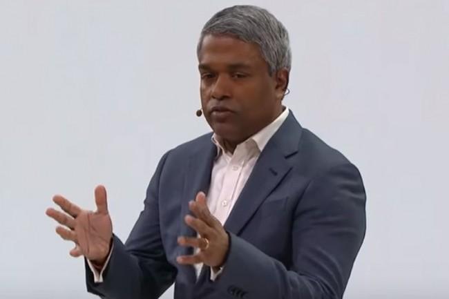 « Les clients peuvent importer dans Google Cloud tous leurs outils, règles et pratiques VMware existants depuis un cloud privé », a expliqué Thomas Kurian, directeur général de Google Cloud. (crédit : D.R.)