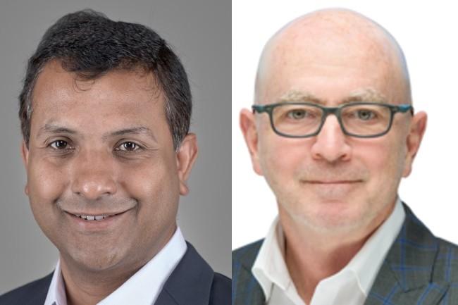 Confluera et Trinity Cyber sont respectivement dirigées par Abhijit Ghosh (à gauche) et Steve Ryan. (Crédits : Confluera et Trinity Cyber)