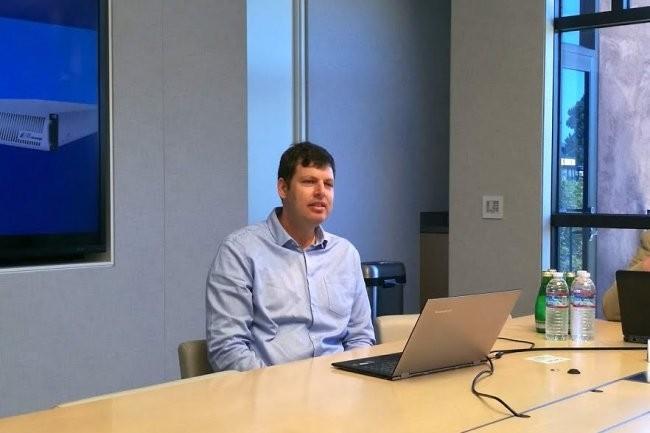 La rédaction du Monde informatique avait rencontré le co-fondateur et CEO d'E8 Storage, Zivan Ori, en 2016 au moment où l'entreprise commençait à s'installer à Santa Clara en Californie. (Crédit : Serge Leblal)