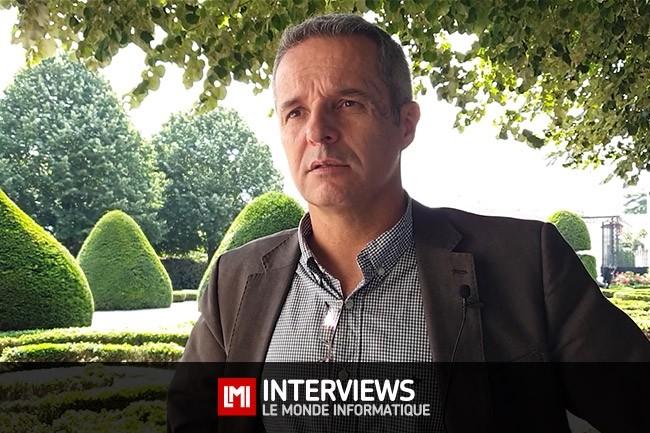 Olivier Grall, Délégué Territorial pour la Région Nouvelle Aquitaine, ANSSI. (crédit : Jean Elyan)