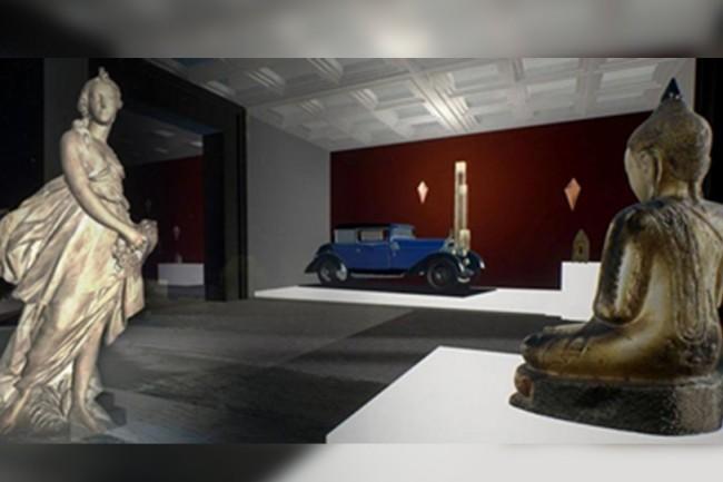 Le musée 3D de l'association Alienor présente des œuvres de 47 musées de Nouvelle-Aquitaine. (crédit : D.R.)