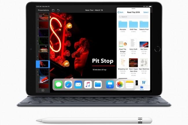 L'iPad Air a permis à Apple de faire croître ses ventes sur un marché mondial des tablettes toujours déprimé au deuxième trimestre. (Crédit : D.R.)
