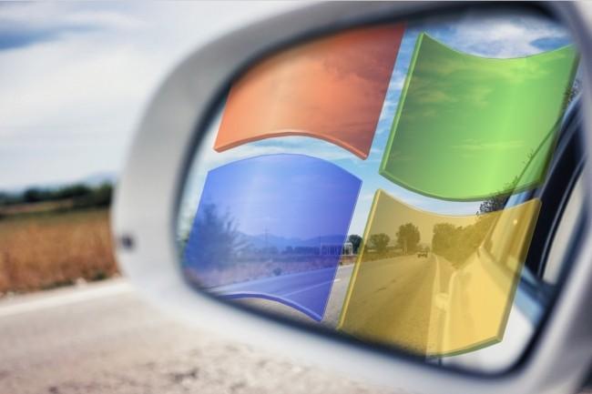 Sur l'ensemble des ordinateurs personnels dans le monde, la part de Windows 7 a chuté de 3,6 %le mois dernier. (Crédit : pan xiaozhen modified by IDG Comm. / Microsoft)