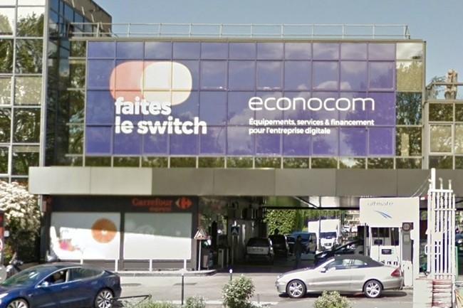 Parmi les économies prévues par Econocom figurent la fermeture de son siège de Puteaux (92) cet été. (Crédit : D.R.)