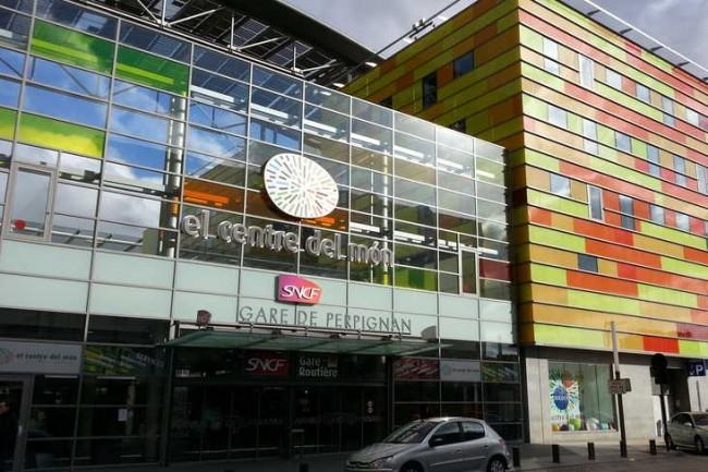 A Perpignan, Computacenter s'installera dans l'édifice Le Centre du Monde qui jouxte la gare TGV. Crédit photo : D.R.