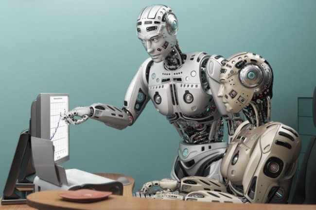 L'automatisation des tâches par les robots inquiète les salariés européens des secteurs financiers,  informatiques et télécoms. (Crédit : D.R. )