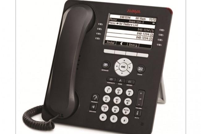 Lestéléphones IP de la série 9600 (ci-dessus) d'Avaya sont concernés par la faille trouvée par McAfee. Selon le fabricant,les modèlesdes séries J100 et B100le sont aussi. (Crédit : Avaya)