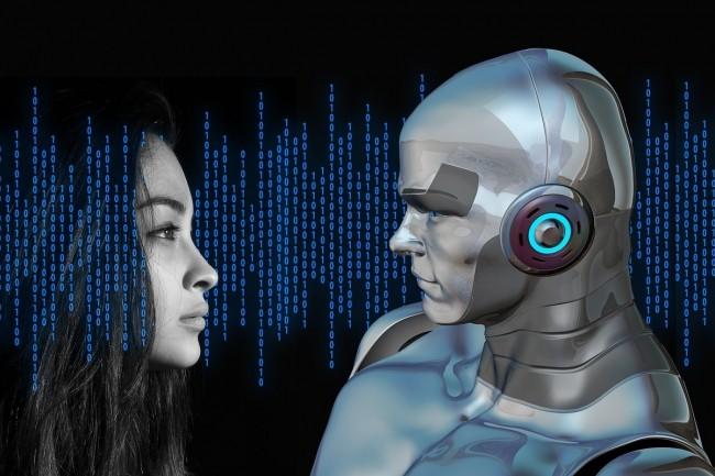L'automatisation des tâches par les robots inquiète les salariés européens des secteurs financiers,  informatiques et télécoms. (Crédit : geralt / Pixabay)