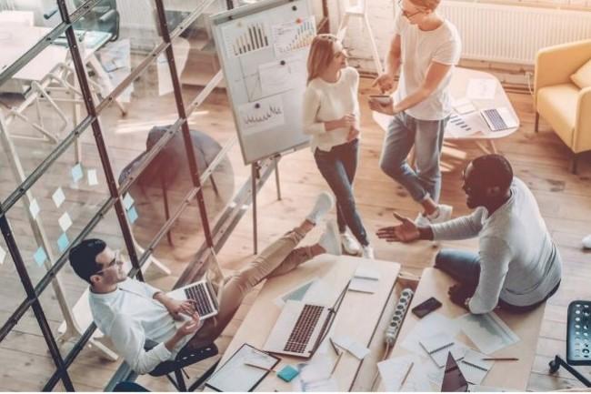 Spécialisée dans le marketing digital, The Bridge forme aux métiers liés au design et au référencement web. (Crédit: The Bridge)