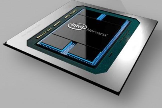 Les processeurs Nervana, noms de code Spring Crest et Spring Hill, vont prendre en charge les traitements d'apprentissage profonds. (Crédit : Intel)