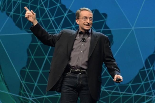 L'édition 2019 de VMworld s'est installée hier jusqu'au 29 août au Moscone Center de San Francisco. Ci-dessus, Pat Gelsinger, CEO de VMware, lors de la précédente édition. (Crédit : VMware)