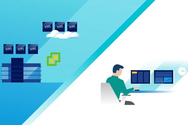 VMware a notamment renforcé son partenariat avec AWS pour proposer des migrations simplifiées. (Crédit : VMware)