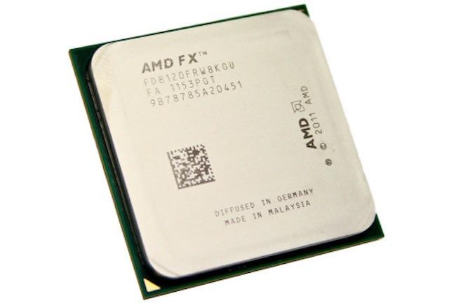 C'est en 2011 qu'AMD a lancé ses puces FX (nom de code Bulldozer) pour poste de travail. (Crédit : AMD)