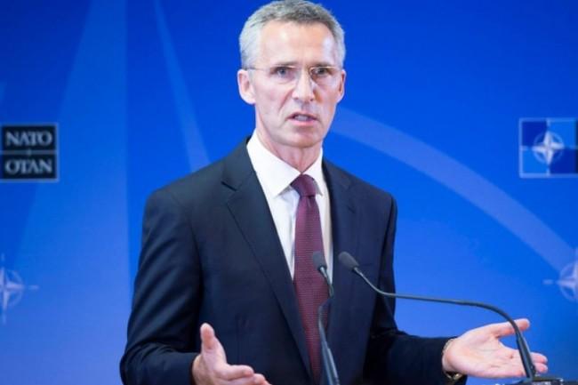 Jens Stoltenberg, secrétaire général de l'OTAN, parle souvent à propos du cyberespace de l'Article 5 et ses principes de défense et réponse collective en cas de cyberattaque d'un membre de l'organisation. (crédit : OTAN)