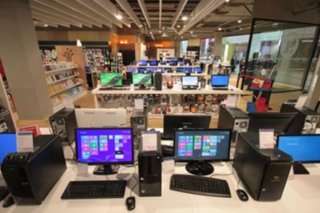 En berne en Europe, les ventes de PC grand public des grossistes ont progressé de 4,1% en juillet en France. (crédit photo : D.R.)