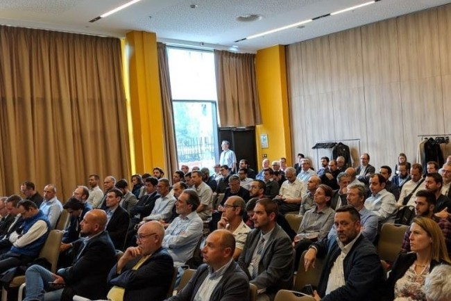 L'IT Tour à Aix va se dérouler à l'Hôtel Renaissance le 3 octobre 2019 comme ici lors de la dernière Cybermatinée Sécurité de la rédaction en mai dernier. (crédit : D.R.)