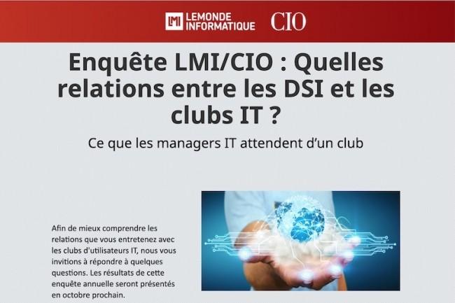 Répondez à notre grande enquête sur les clubs utilisateurs IT