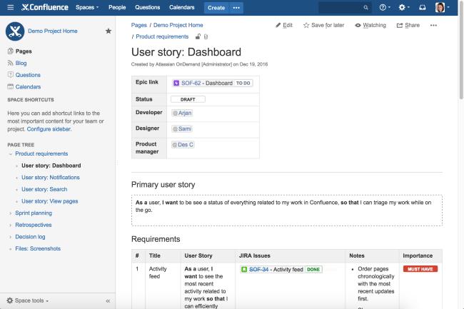 L'éditeur va proposer des services premium et gratuits sur Jira et Confluence. (Crédit Photo : Atlassian)