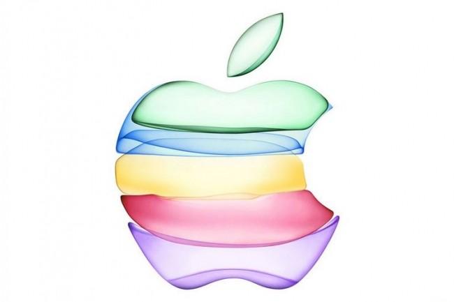 L'événement de présentation du prochain iPhone se fera depuis le Théatre Steve Jobs. Ci-dessus, le logo de teasing conçu pour l'occasion. (Crédit : Apple)