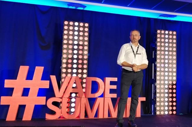Georges Lotigier, PDG de Vade Secure a inauguré le premier Vade Secure Summit à Liile.