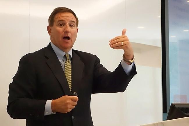 Arrivé chez Oracle à l'été 2010 avec un titre de président, Mark Hurd est devenu co-CEO du groupe en 2014. (Crédit Photo : IDG)