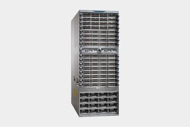 Les produits réseaux de stockage MDS de Cisco viennent renforcer les SAN avec la série 9700 . (Crédit Cisco)
